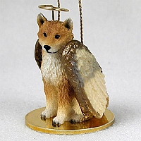 Shiba Inu Pet Angel Ornament