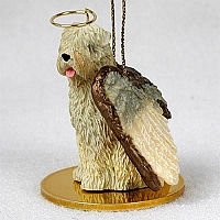Soft Coated Wheaten Terrier Pet Angel Ornament