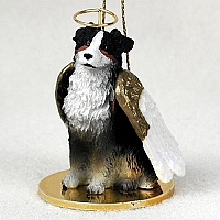 Australian Shepherd Tricolor Pet Angel Ornament