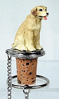 Labrador Retriever Yellow Bottle Stopper