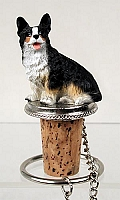 Welsh Corgi Cardigan Bottle Stopper