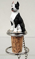 Pit Bull Terrier Brindle Bottle Stopper