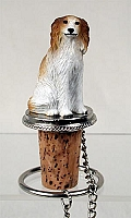 Borzoi Bottle Stopper