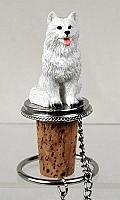 American Eskimo Bottle Stopper