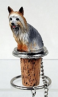 Silky Terrier Bottle Stopper