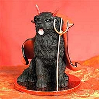Newfoundland Devilish Pet Figurine