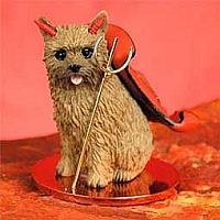 Norwich Terrier Devilish Pet Figurine