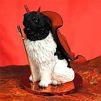 Landseer Devilish Pet Figurine