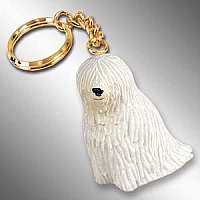Komondor Key Chain