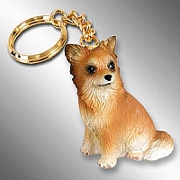 Chihuahua Longhaired Key Chain