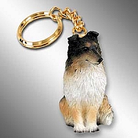 Sheltie Tricolor Key Chain