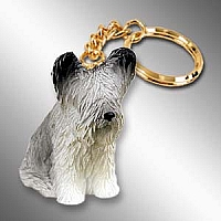 Skye Terrier Key Chain