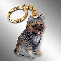 Cairn Terrier Brindle Key Chain