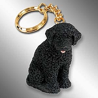 Portuguese Water Dog Key Chain