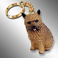 Norwich Terrier Key Chain