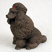 Poodle Chocolate Tiny One Figurine
