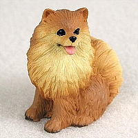 Pomeranian Red Tiny One Figurine