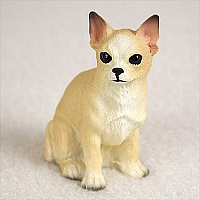 Chihuahua Tan & White Tiny One Figurine