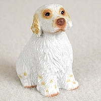 Clumber Spaniel Tiny One Figurine