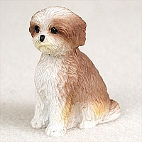 Shih Tzu Tan w/Sport Cut Tiny One Figurine