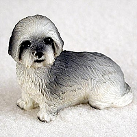 Lhasa Apso Gray w/Sport Cut Tiny One Figurine