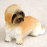 Lhasa Apso Brown w/Sport Cut Tiny One Figurine