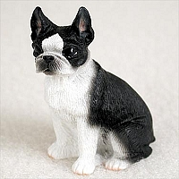 Boston Terrier Tiny One Figurine