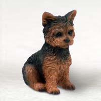 Yorkshire Terrier Puppy Cut Tiny One Figurine