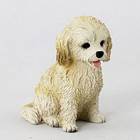 Cockapoo Blond Tiny One Figurine