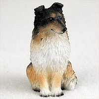 Sheltie Tricolor Tiny One Figurine