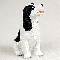Springer Spaniel Black & White Tiny One Figurine