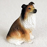 Collie Sable Tiny One Figurine
