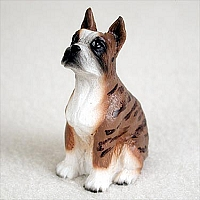 Boxer Brindle Tiny One Figurine
