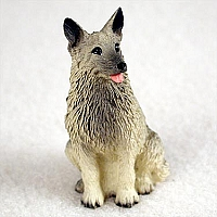 Norwegian Elkhound Tiny One Figurine