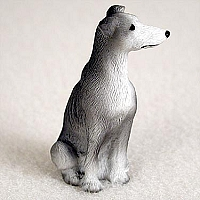 Greyhound Blue Tiny One Figurine