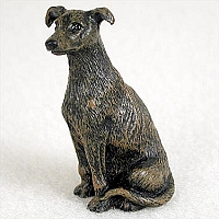 Greyhound Brindle Tiny One Figurine