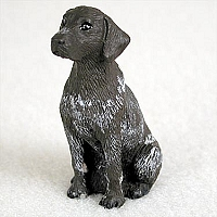 German Short Haired Pointer Tiny One Figurine