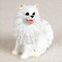 American Eskimo Miniature Tiny One Figurine