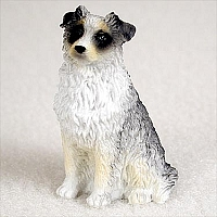 Australian Shepherd Blue Tiny One Figurine