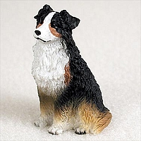 Australian Shepherd Tricolor Tiny One Figurine
