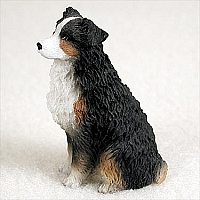 Australian Shepherd Tricolor w/Docked Tail Tiny One Figurine