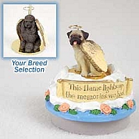 Poodle Chocolate Candle Topper Tiny One Pet Angel Ornament