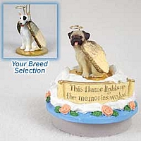 Bull Terrier Candle Topper Tiny One Pet Angel Ornament