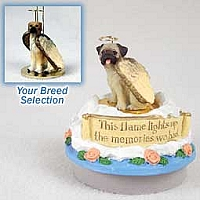 Great Dane Fawn w/Uncropped Ears Candle Topper Tiny One Pet Angel Ornament