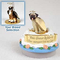Boxer w/Uncropped Ears Candle Topper Tiny One Pet Angel Ornament