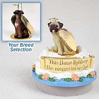 Italian Greyhound Candle Topper Tiny One Pet Angel Ornament