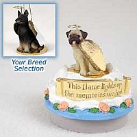 Belgian Tervuren Candle Topper Tiny One Pet Angel Ornament