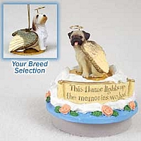 Petit Basset Griffon Vendeen Candle Topper Tiny One Pet Angel Ornament
