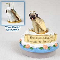 Komondor Candle Topper Tiny One Pet Angel Ornament