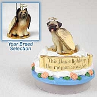 Briard Candle Topper Tiny One Pet Angel Ornament